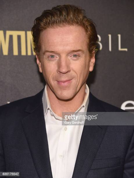 """Actor Damian Lewis attends the """"Billions"""" Season 2 premiere at Cipriani 25 Broadway on February 13, 2017 in New York City."""