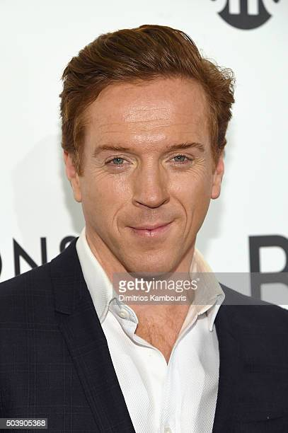 Actor Damian Lewis attends the Billions Series Premiere at Museum of Modern Art on January 7 2016 in New York City
