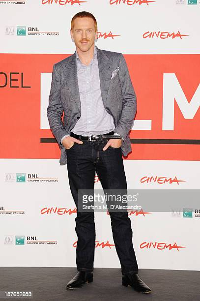 Actor Damian Lewis attends the 'Romeo Juliet' Photocall during the 8th Rome Film Festival at the Auditorium Parco Della Musica on November 11 2013 in...