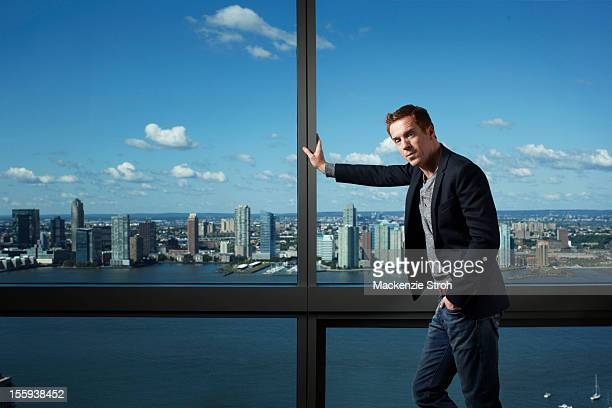 Actor Damian Lewis is photographed for The Times Magazine UK on September 10 2012 in New York City PUBLISHED IMAGE