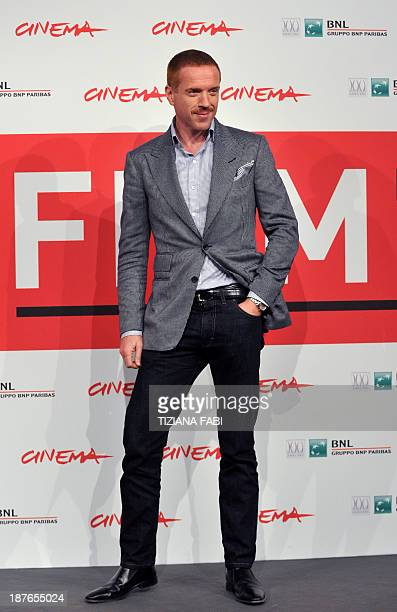 US actor Damian Lewis poses during the photocall of the film 'Romeo and Juliet'' on November 11 2013 at the Rome International Film Festival AFP...