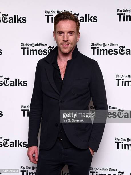 Actor Damian Lewis poses during TimesTalks Presents In Conversation With Damian Lewis at DGA Theater on June 23, 2016 in New York City.