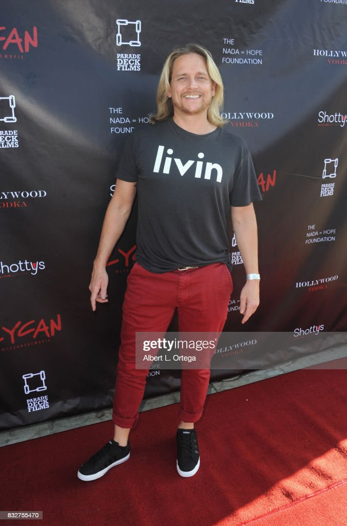 "Actor Damian Whitewood arrives for the Premiere Of Parade Deck's ""Lycan"" held at Laemmle's Ahrya Fine Arts Theatre on August 15, 2017 in Beverly Hills, California."