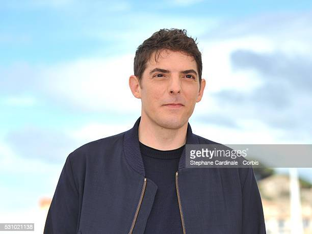 Actor Damien Bonnard attends the 'Staying Vertical ' photocall during the 69th annual Cannes Film Festival at the Palais des Festivals on May 12 2016...