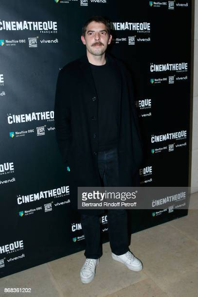 Actor Damien Bonnard attends the Tribute to Roman Polanski Held with a Retrospective of the Director's Work at Cinematheque Francaise on October 30...