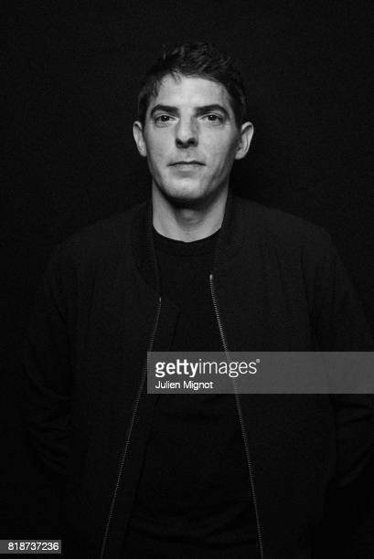 Actor Damien Bonnard is photographed for Grazia Magazine on May 12 2016 in Cannes France