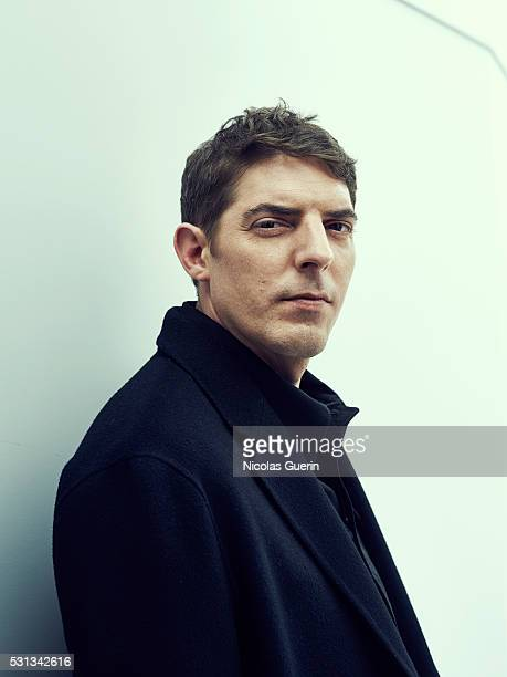 Actor Damien Bonnard is photographed for Self Assignment on May 12 2016 in Cannes France