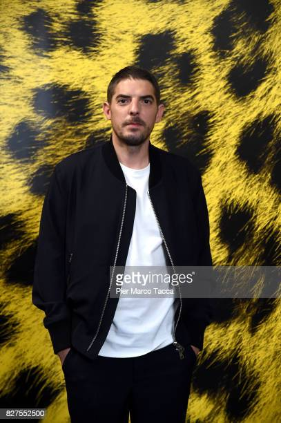 Actor Damien Bonnard poses during the 'Doigts' photocall at the 70th Locarno Film Festival on August 8 2017 in Locarno Switzerland