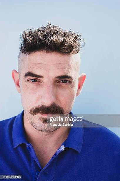 Actor Damien Bonnard poses for a portrait during the 74th Cannes International Film Festival, on July 15, 2021 in Cannes, France.