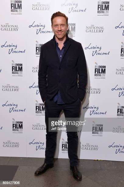 Actor Damien Lewis attends the UK Premiere of 'Loving Vincent' during the 61st BFI London Film Festival on October 9 2017 in London England