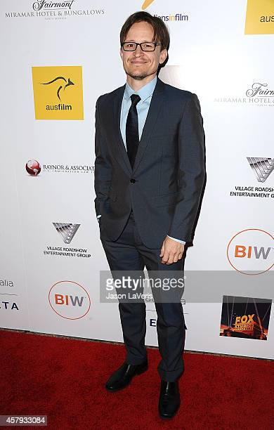 Actor Damon Herriman attends the 3rd annual Australians in Film Awards benefit gala at Fairmont Miramar Hotel on October 26, 2014 in Santa Monica,...