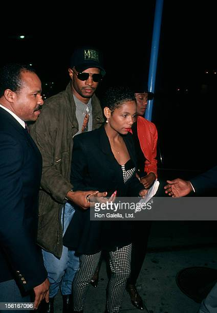 Actor Damon Wayans and wife Lisa Thorner attending the premiere of 'Last Boy Scout' on December 12 1991 at Mann Village Theater in Hollywood...