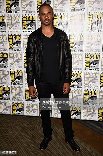 Actor Damon Wayans Jr attends 20th Century Fox Press Line during ComicCon International 2014 at Hilton Bayfront on July 25 2014 in San Diego...