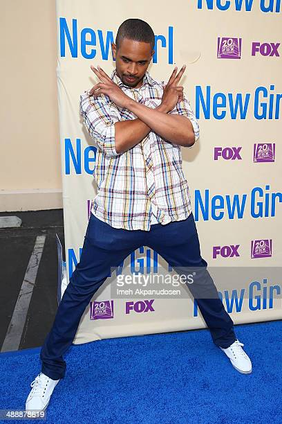 Actor Damon Wayans Jr attends the 'New Girl' Season 3 Finale Screening and cast QA at Zanuck Theater at 20th Century Fox Lot on May 8 2014 in Los...