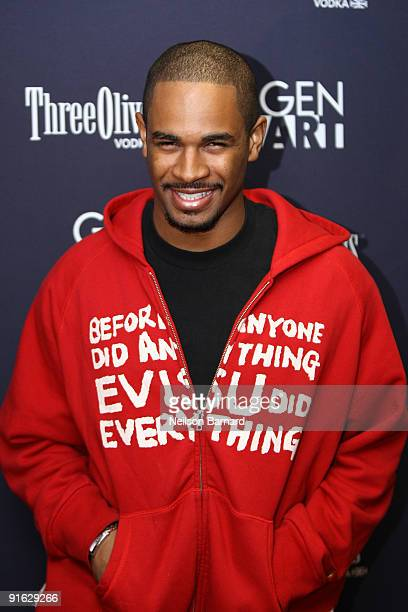 Actor Damon Wayans Jr attends the premiere of Black Dynamite hosted by Gen Art at the AMC Loews 19th Street on October 8 2009 in New York City