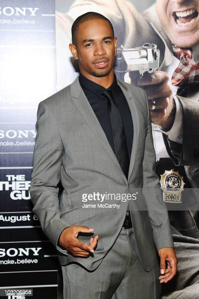 "Actor Damon Wayans Jr. Attends the premiere of ""The Other Guys"" at the Ziegfeld Theatre on August 2, 2010 in New York City."
