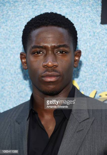 Actor Damson Idris arrives at the premiere of FX's 'Snowfall' Season 2 at the Regal Cinemas LA LIVE Stadium 14 on July 16 2018 in Los Angeles...