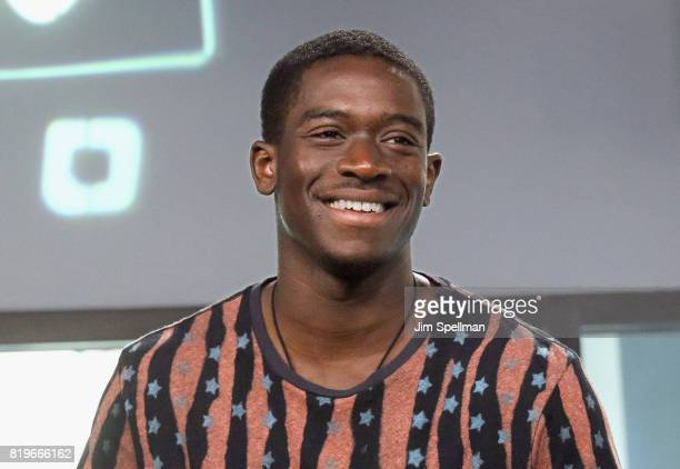 Actor Damson Idris attends Build to discuss 'Snowfall' at Build Studio on July 20 2017 in New York City