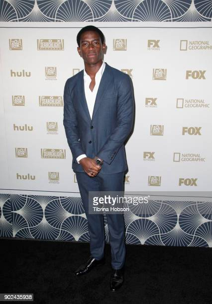 Actor Damson Idris attends FOX FX and Hulu 2018 Golden Globe Awards After Party at The Beverly Hilton Hotel on January 7 2018 in Beverly Hills...