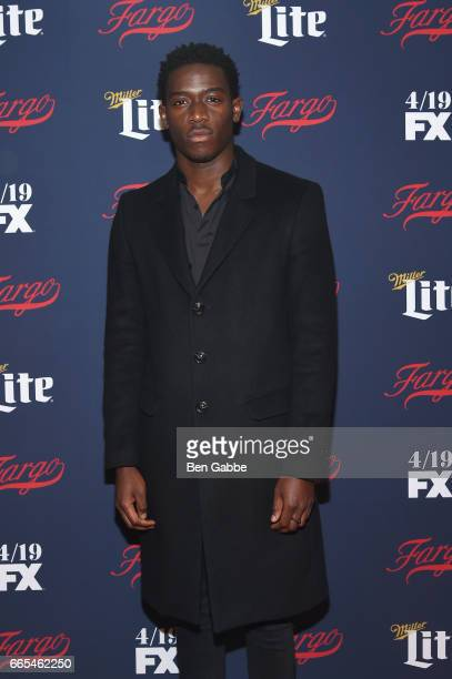 Actor Damson Idris attends FX Network 2017 AllStar Upfront at SVA Theater on April 6 2017 in New York City