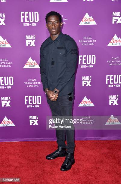 Actor Damson Idris attends FX Network's 'Feud Bette and Joan' premiere at Grauman's Chinese Theatre on March 1 2017 in Hollywood California
