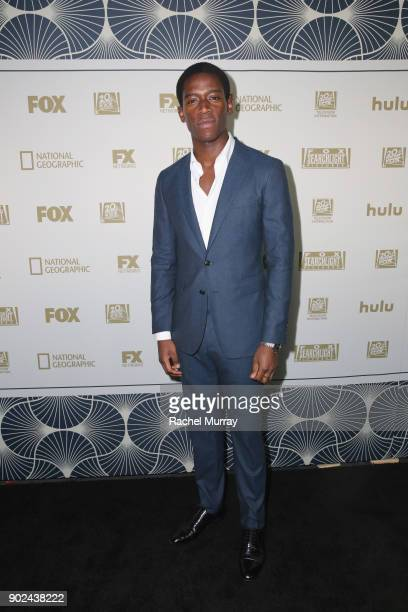 Actor Damson Idris attends Hulu's 2018 Golden Globes After Party at The Beverly Hilton Hotel on January 7 2018 in Beverly Hills California