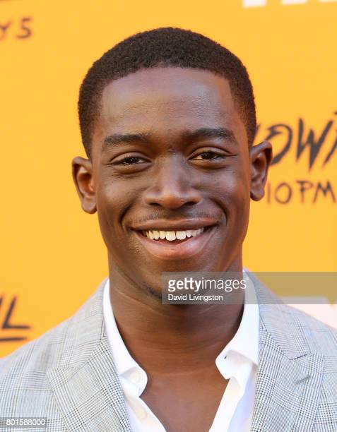 Actor Damson Idris attends the premiere of FX's 'Snowfall' at The Theatre at Ace Hotel on June 26 2017 in Los Angeles California