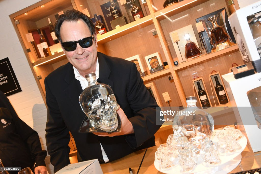 Dan Akroyd Launches Crystal Head Vodka At Grande Epicerie de Paris