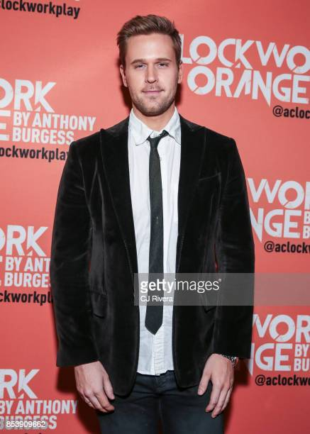 Actor Dan Amboyer attends the OffBroadway opening night of 'A Clockwork Orange' at New World Stages on September 25 2017 in New York City