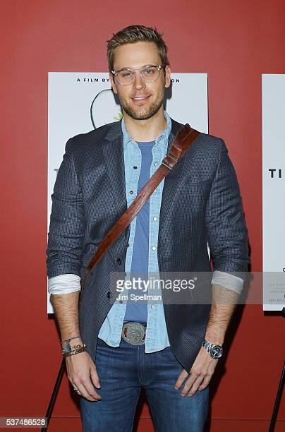 Actor Dan Amboyer attends the 'Time To Choose' New York screening at Landmark's Sunshine Cinema on June 1 2016 in New York City