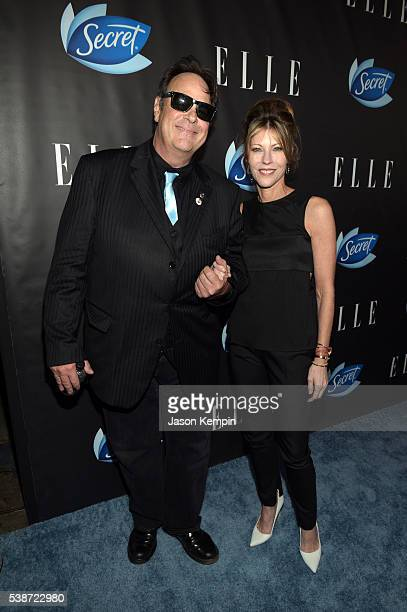 Actor Dan Aykroyd and ELLE editorinchief Robbie Myers attend the Women In Comedy event with July cover stars Leslie Jones Melissa McCarthy Kate...