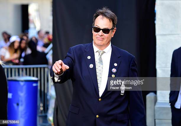 """Actor Dan Aykroyd arrives at the Premiere of Sony Pictures' """"Ghostbusters"""" at TCL Chinese Theatre on July 9, 2016 in Hollywood, California."""