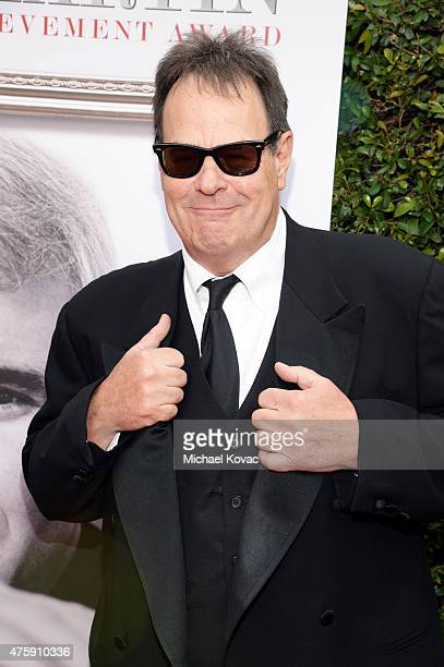 Actor Dan Aykroyd attends the 43rd AFI Life Achievement Award Gala honoring Steve Martin at Dolby Theatre on June 4, 2015 in Hollywood, California.