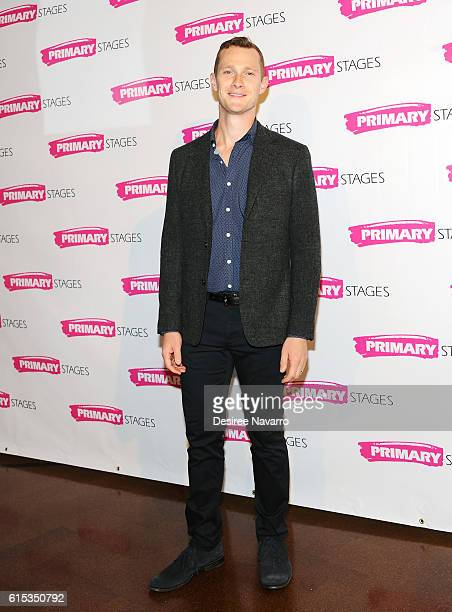 Actor Dan Bittner attends Primary Stages 2016 Gala at 538 Park Avenue on October 17 2016 in New York City