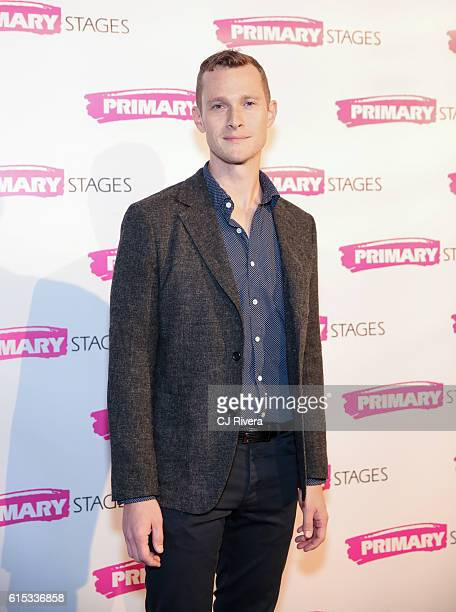 Actor Dan Bittner attends the Primary Stages 2016 Gala at 538 Park Avenue on October 17 2016 in New York City