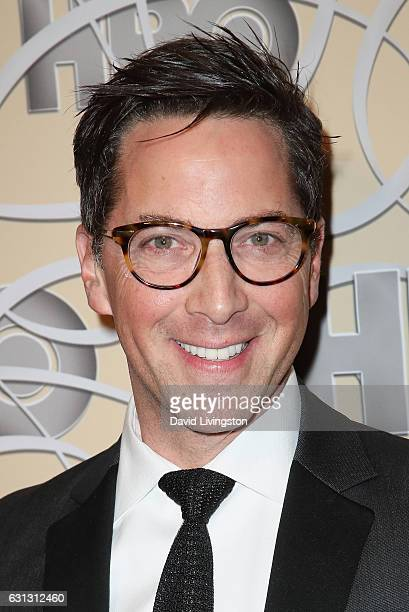 Actor Dan Bucatinsky arrives at HBO's Official Golden Globe Awards after party at the Circa 55 Restaurant on January 8 2017 in Los Angeles California