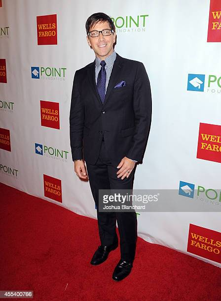 Actor Dan Bucatinsky arrives at Point Foundation's Voices On Point Gala at the Hyatt Regency Century Plaza on September 13 2014 in Los Angeles...
