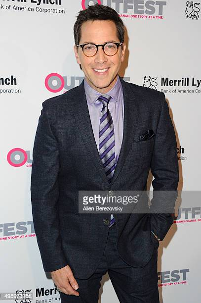 Actor Dan Bucatinsky arrives at the 2015 Outfest Legacy Awards at Vibiana on November 5 2015 in Los Angeles California