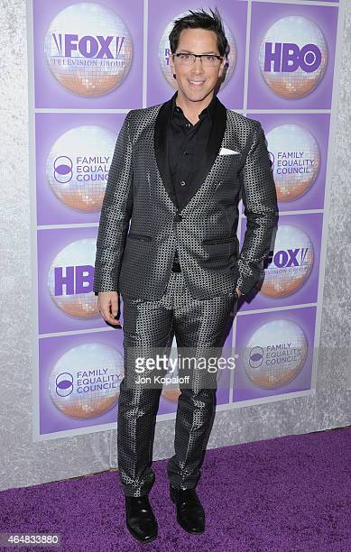Actor Dan Bucatinsky arrives at the Family Equality Council's Los Angeles Awards Dinner at The Beverly Hilton Hotel on February 28 2015 in Beverly...