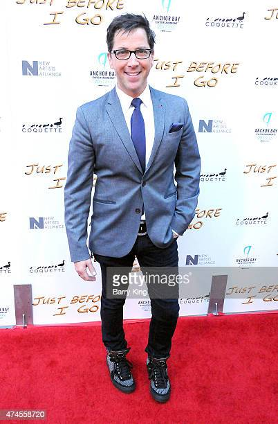 Actor Dan Bucatinsky arrives at the Los Angeles Special Screening of 'Just Before I Go' at ArcLight Hollywood on April 20 2015 in Hollywood California