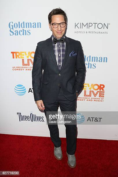 Actor Dan Bucatinsky arrives at the TrevorLIVE Los Angeles 2016 Fundraiser at The Beverly Hilton Hotel on December 4 2016 in Beverly Hills California