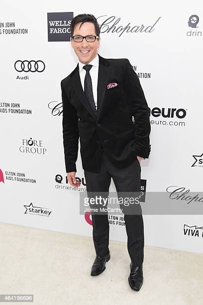 Actor Dan Bucatinsky attends the 23rd Annual Elton John AIDS Foundation Academy Awards Viewing Party on February 22 2015 in Los Angeles California