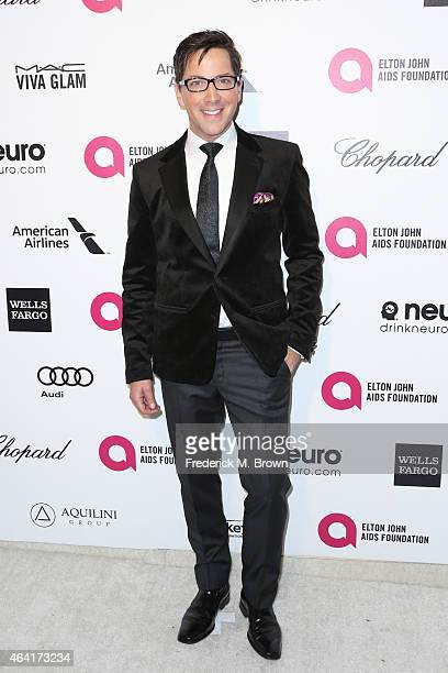 Actor Dan Bucatinsky attends the 23rd Annual Elton John AIDS Foundation's Oscar Viewing Party on February 22 2015 in West Hollywood California