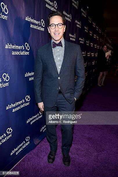 Actor Dan Bucatinsky attends the 24th and final A Night at Sardi's to benefit the Alzheimer's Association at The Beverly Hilton Hotel on March 9 2016...