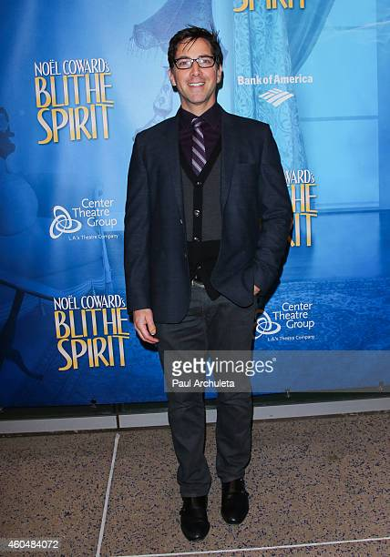 Actor Dan Bucatinsky attends the 'Blithe Spirit' opening night performance at The Ahmanson Theatre on December 14 2014 in Los Angeles California
