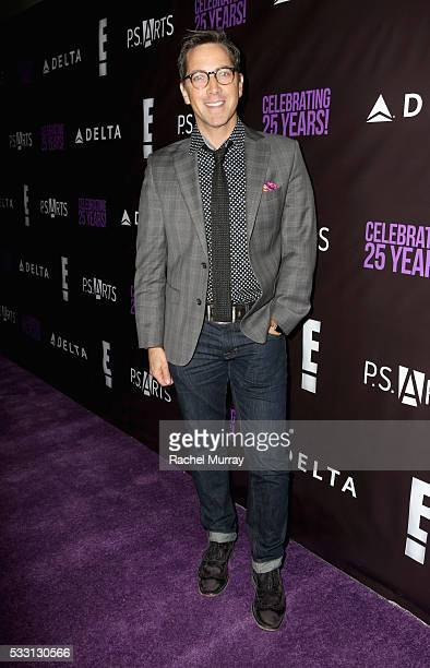 Actor Dan Bucatinsky attends the pARTy celebrating 25 years of PS ARTS on May 20 2016 in Los Angeles California
