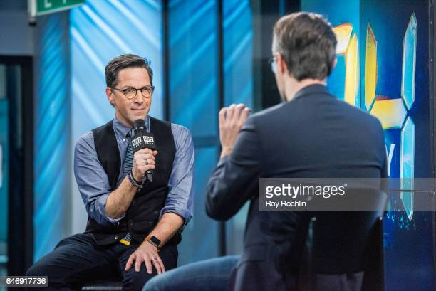 Actor Dan Bucatinsky discusses 24 Legacy at the Build Series at Build Studio on March 1 2017 in New York City