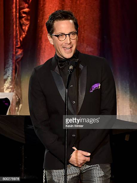 Actor Dan Bucatinsky speaks onstage during TrevorLIVE LA 2015 at Hollywood Palladium on December 6 2015 in Los Angeles California