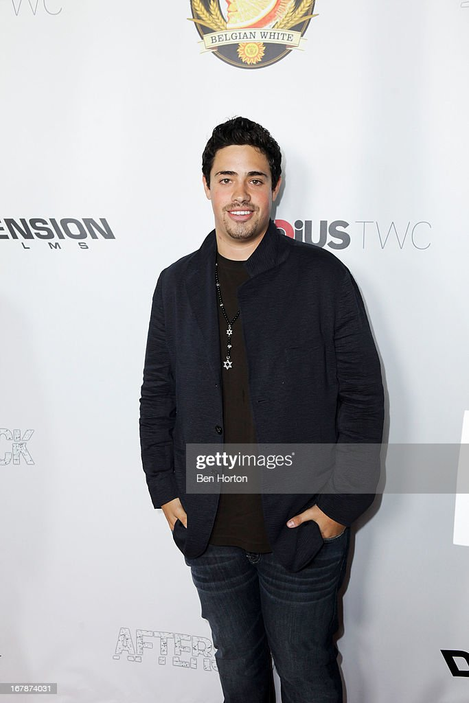 Actor Dan Carillo attends the premiere of 'Aftershock' at Mann Chinese 6 on May 1, 2013 in Los Angeles, California.