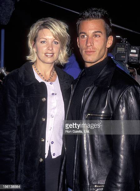 Actor Dan Cortese and Dee Dee Hemby attend 'Scott Hamilton Back on Ice' on October 29 1997 at the Great Western Forum in Inglewood California